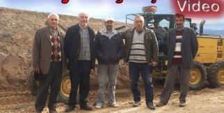 Köyümüzde Yol Çalışmaları  2015
